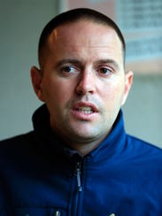 Trainer Chad Brown.
