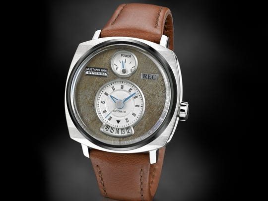 This is a P-51 watch made from Mustang parts by Dutch company REC.