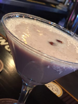 The White Chocolate Raspberry Martini at Grizzly's Wood Fired Grill in Waite Park.