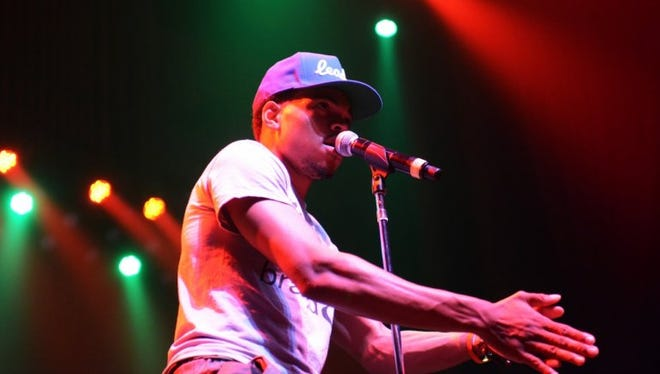 Chance the Rapper performs in Atlanta in July, 2013.