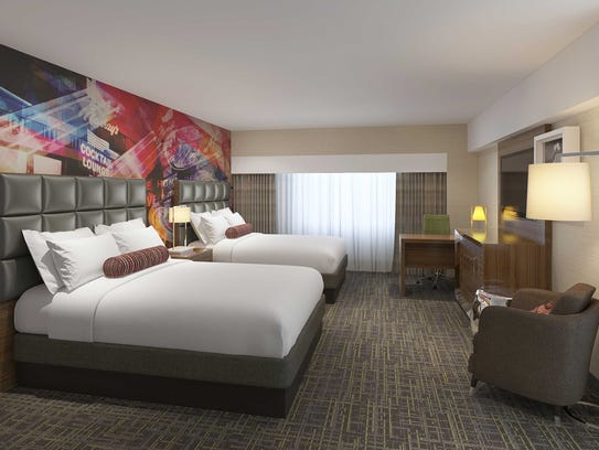New guestroom concept at Circus Circus Reno.