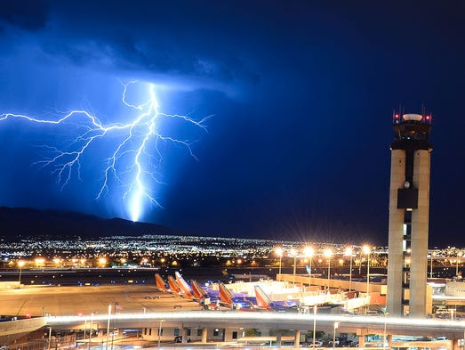 Question: What happens when lightning strikes a plane?