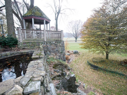 A gazebo built on a historic limekiln was designed