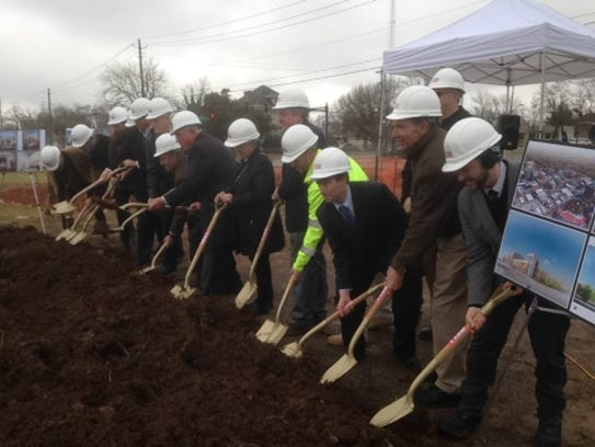 Rutherford County officials and others participate