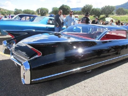 The bigger the fins the better was Cadillac's motto