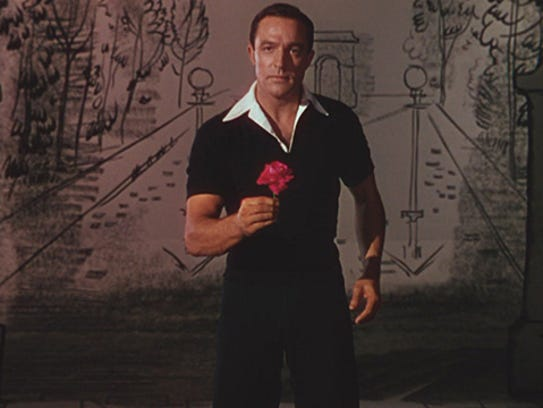 Gene Kelly brought athletic grace to the 1951 movie