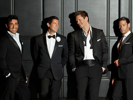 Il Divo performs at the Riverside Theater Wednesday.