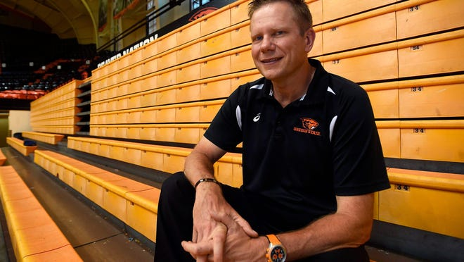 Former Oregon State volleyball players say that head coach Mark Barnard pits players against each other in team meetings, threatens to revoke scholarships for struggling players and pushes team members past health warnings in practice as punishment.
