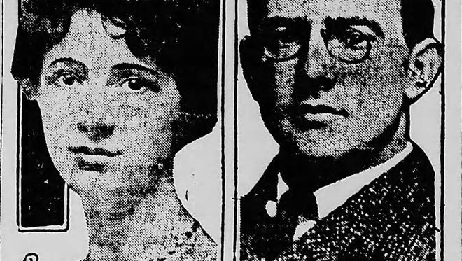 Gertrude Hassler and Carl Fisher