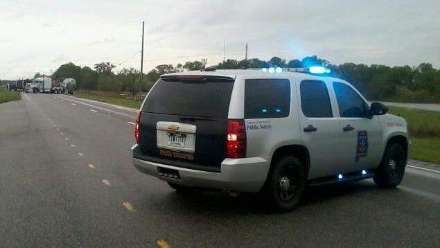 Alabama State Trooper vehicle. / Stock photo