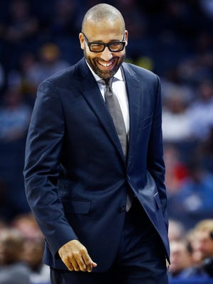 """Entering his second season, Memphis Grizzlies coach David Fizdale says, """"The one thing I learned this summer is to not force anything."""""""
