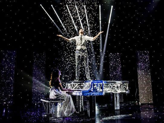 Magician Adam Trent uses Broadway-level production