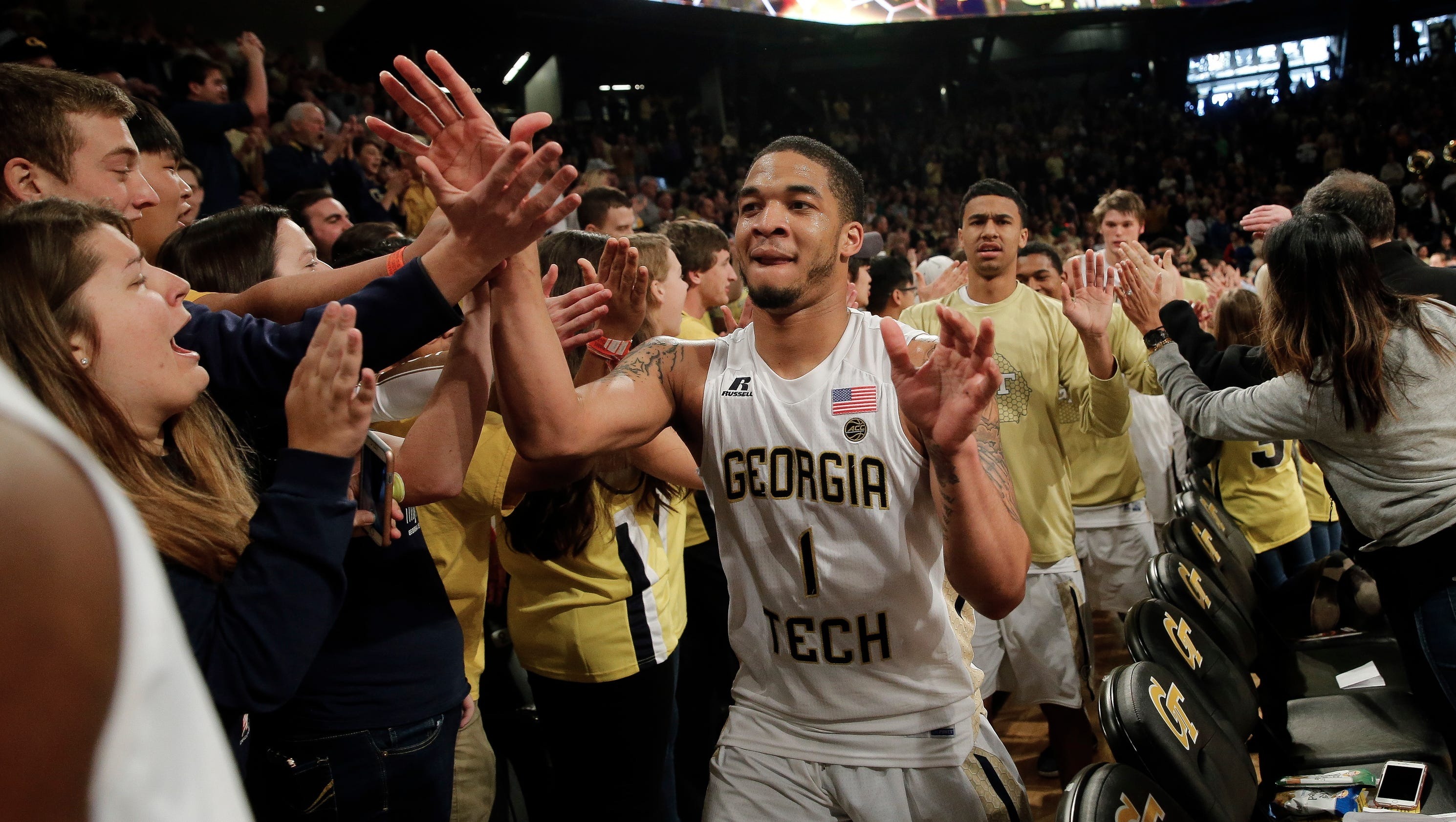 Fresh off another top-15 win, Georgia Tech looks tourney ready