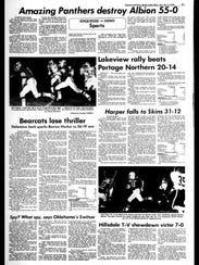 Battle Creek Sports History: Week of Oct. 6, 1976