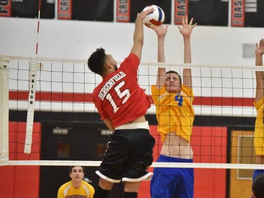 Volleyball, Bergenfield defeats Lyndhurst