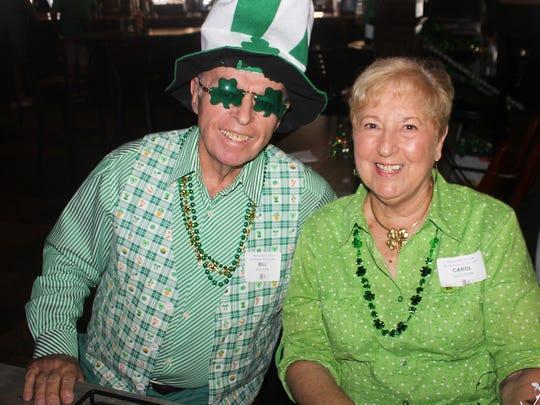 Bill and Carol Sullivan are truly Irish.
