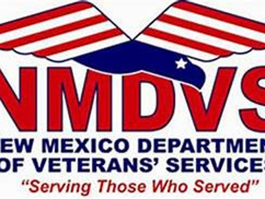 The logo for the New mexico Department of Veterans