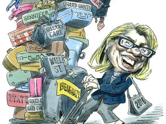 Taylor Jones cartoon.