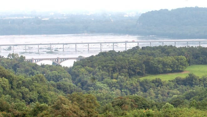 This is a view of the Susquehanna River from Highpoint Scenic Vista and Recreation Area in Lower Windsor Township. Susquehanna Heritage has been seeking a national designation for York and Lancaster counties to bring federal funding and support to attract more visitors to the area.