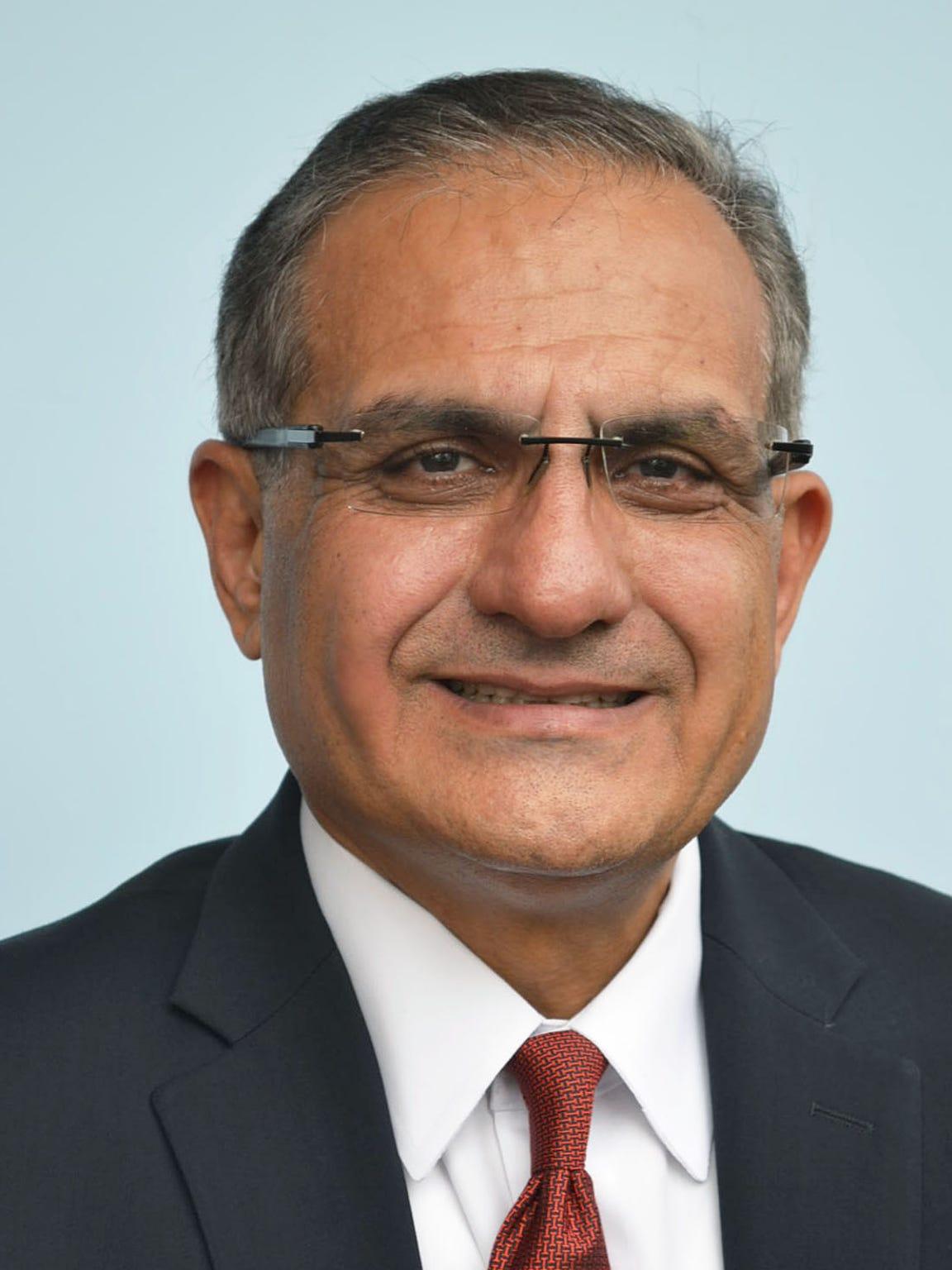 Interim City Manager Saeed Kazemi