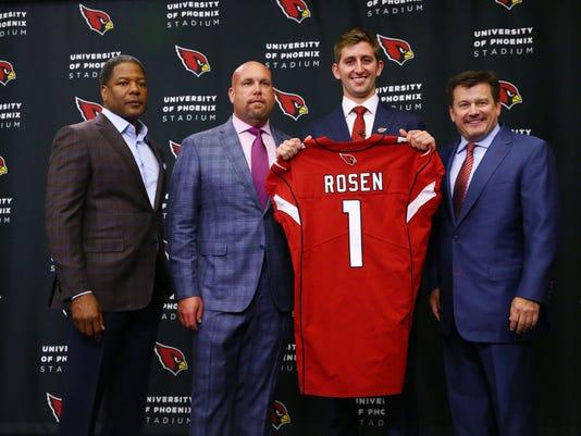 Arizona Cardinals introduce Josh Rosen