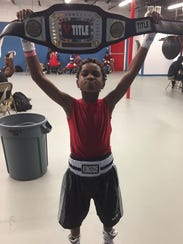 Kumari McCray of Outlaw Boxing in Palm Bay won a PAL