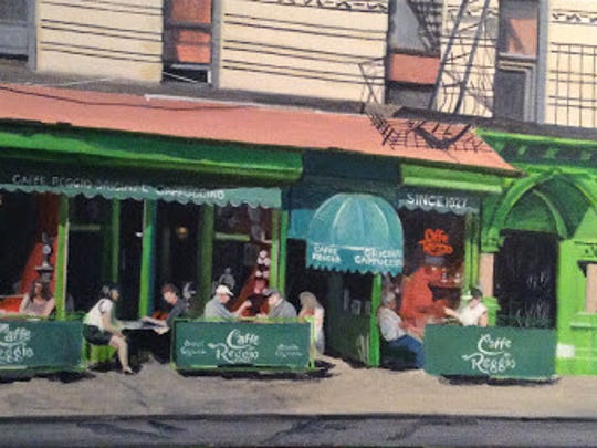 "During the month of June, the Watchung Arts Center will present ""Line and Language"", curated by Christine Romanell & Daniel Morowitz, in the Heinz W. Otto Gallery, and ""My City: Recent Painting by Elliot Appel"" in the Lower Gallery."