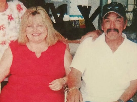 "This June 18, 2017, photo provided by Lorena Santos shows her relatives Theresa Rodriguez and Richard Rodriguez in San Antonio, Texas. Lorena's mother Evangelina Santos said she had been waiting to hear if her much-loved brother and sister-in-law were among those who were injured but survived the attack. She told Univision that 64-year-old Richard Rodriguez and his wife, Theresa, were members of the First Baptist Church. ""They told us many were hurt,"" Santos said in a tearful interview. ""I was hoping to God that they were among them, that they were only hurt, not dead. But at 11 p.m., they gave us the news."" (Courtesy of Lorena Santos via AP)"