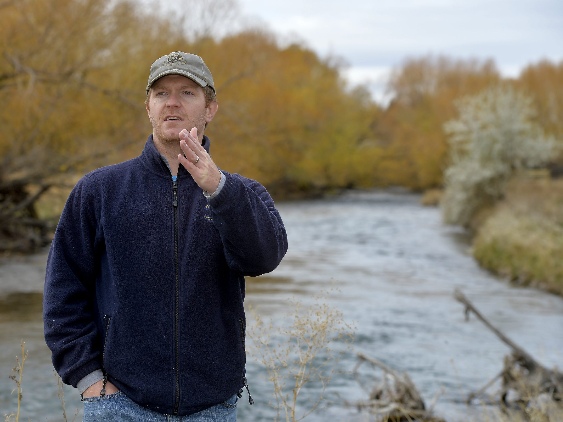 Clint Smith, an FWP fisheries biologist, said Big Spring