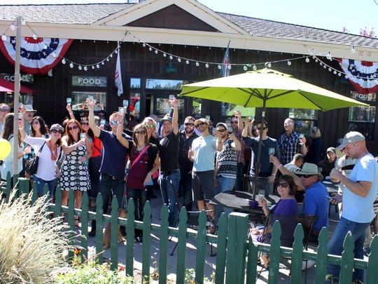 The Truckee Wine Walk & Shop runs Oct. 1 in historic downtown Truckee.