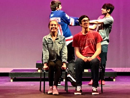 "Fox Lane High School presents ""The Little Mermaid"";"