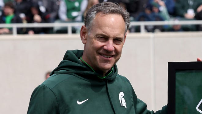 Michigan State coach Mark Dantonio