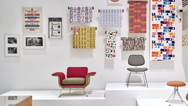 A view of the Alexander Girard exhibit at the Vitra Design Museum in Weil am Rhein, Germany.