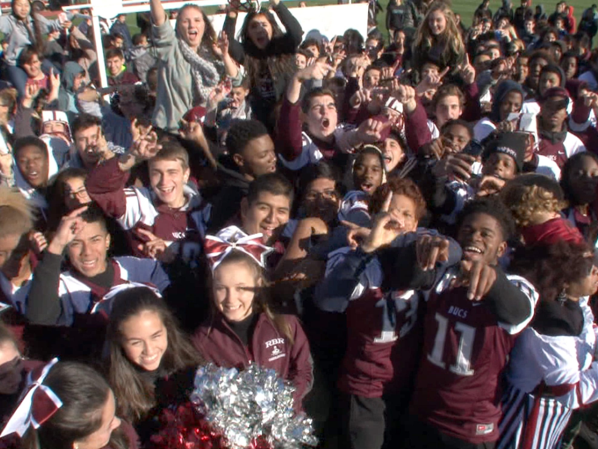 The Red Zone Roadshow visits Red Bank Regional High School in advance of their Thanksgiving Day game against Long Branch.