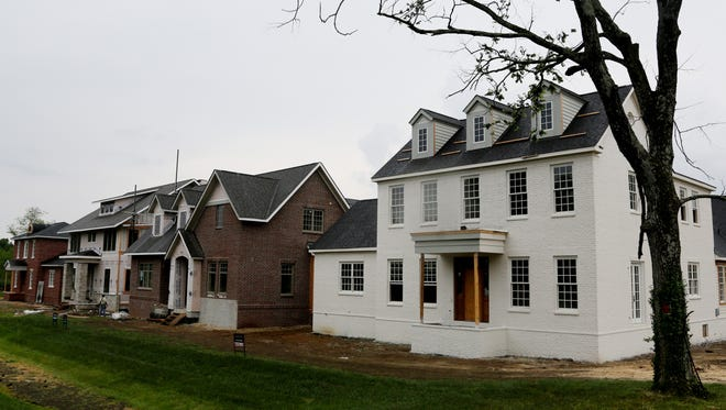 The nine-acre Graymont community in Green Hills will contain 28 homes.