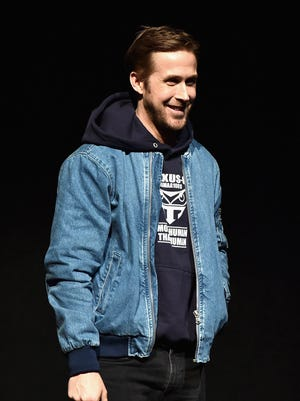 Ryan Gosling took the stage at CinemaCon 2017 to introduce footage from 'Blade Runner 2049.'