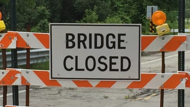 A maintenance project on the Griswold Road bridge over the Pine River starts Monday.