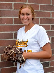 Hartland's Madelin Skene is Livingston County's softball