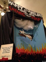 The display proposed by the Satanic Temple was denied