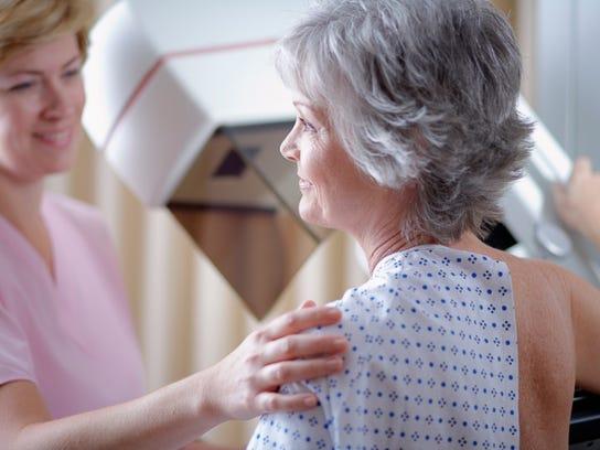 Schedule a mammogram during Breast Cancer Awareness