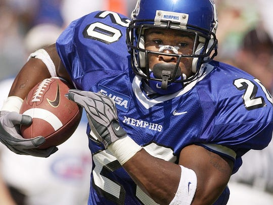 20 – DeAngelo Williams, Memphis (2002-05): Williams