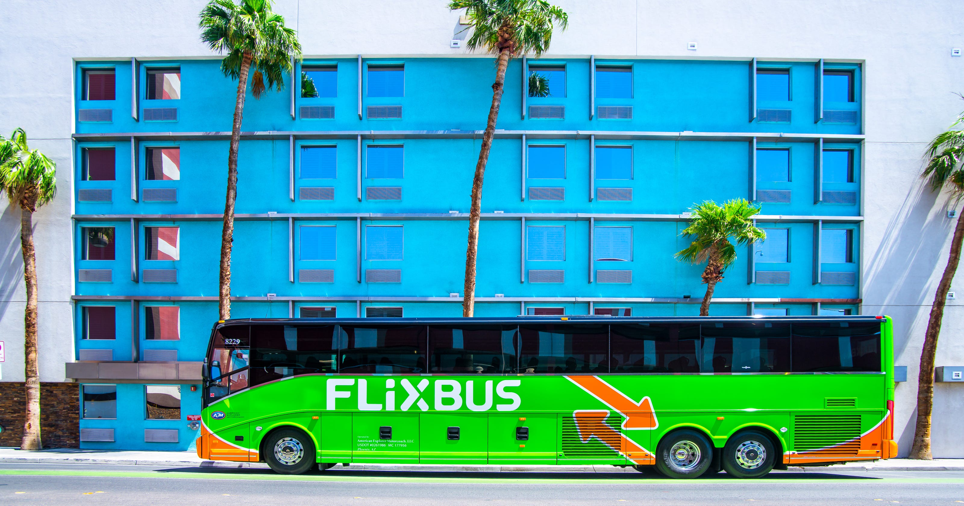 Flixbus A New Bus Line Will Take You To L A In Under 2