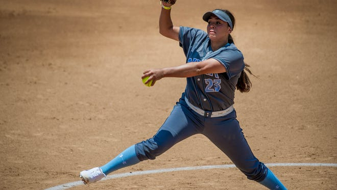 Buena pitcher Brooke Yanez, who led the Bulldogs to a CIF title, earned MVP honors for the Channel League softball team.