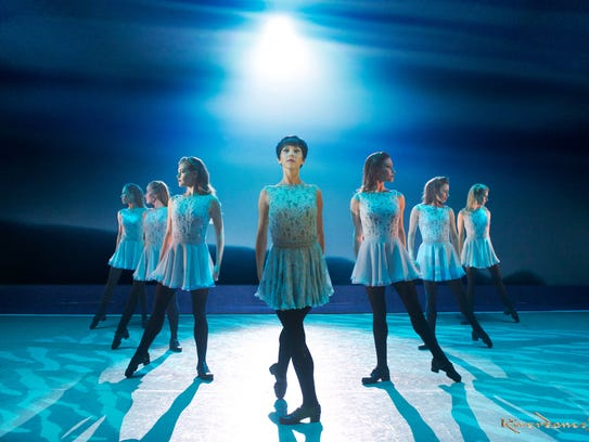 "The cast of ""Riverdance - The 20th Anniversary World"