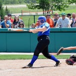 Williamsburg's Shelby Schaeffer looks to make a hit for the Wildcats May 30.