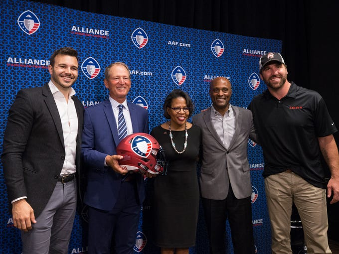 Alliance of American Football CEO Charlie Ebersol,