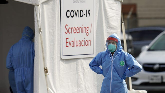"A report from the White House Coronavirus Task Force said Texas is experiencing a ""full resurgence"" of the coronavirus pandemic and ""must intensify"" mitigation efforts  (AP Photo/David J. Phillip)."