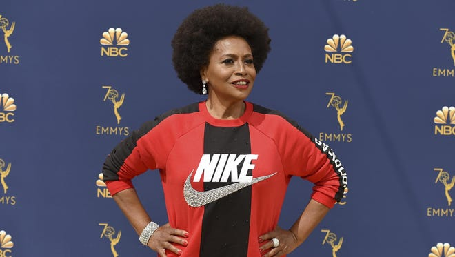 Jenifer Lewis arrives at the 70th Primetime Emmy Awards on Monday, Sept. 17, 2018, at the Microsoft Theater in Los Angeles.