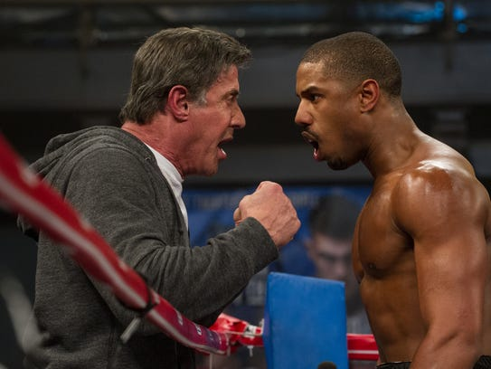 Sylvester Stallone and Michael B. Jordan star in 'Creed'