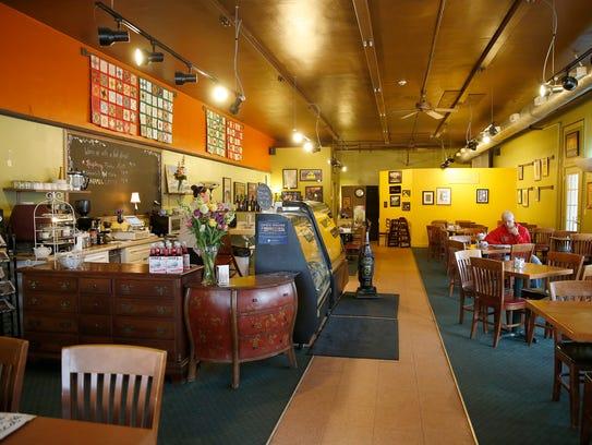 Inside Dufour's in Irvington on Jan. 28, 2016.